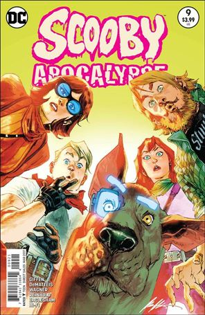 Scooby Apocalypse 9-B