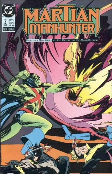 Martian Manhunter (1988) 2-A by DC
