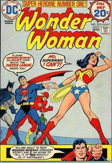 Wonder Woman (1942) 212-A by DC