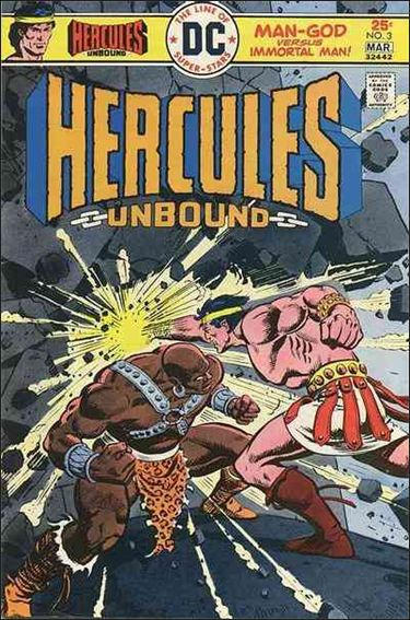 Hercules: Unbound 3-A by DC