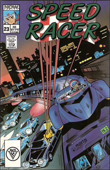 Speed Racer (1987) 23-A by Now Comics