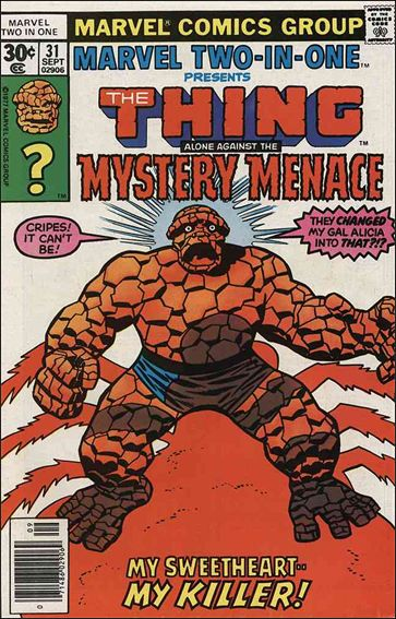 Marvel Two-In-One (1974) 31-A by Marvel