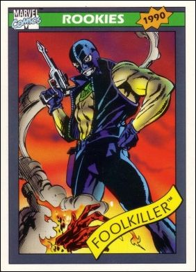 Marvel Universe: Series 1 (Base Set) 87-A by Impel
