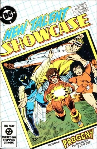 New Talent Showcase (1984) 10-A by DC