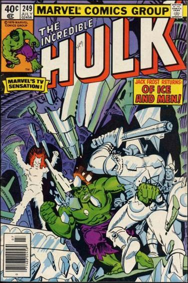 Incredible Hulk (1968) 249-A by Marvel