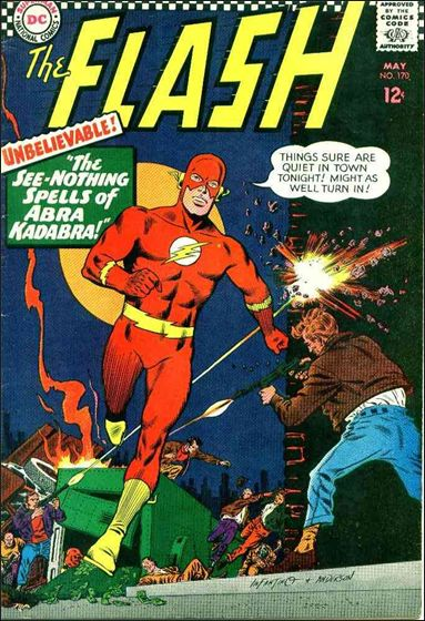 Flash (1959) 170-A by DC