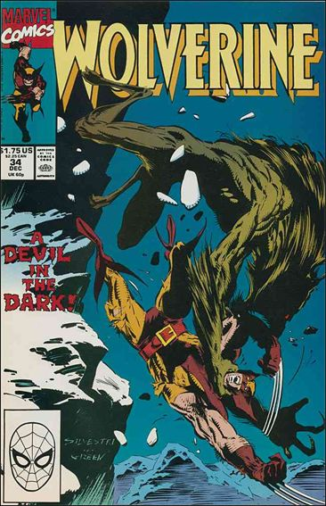 Wolverine (1988)  34-A by Marvel