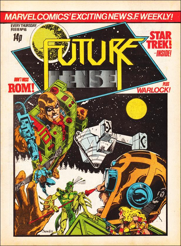 Future Tense (UK) 16-A by Marvel UK