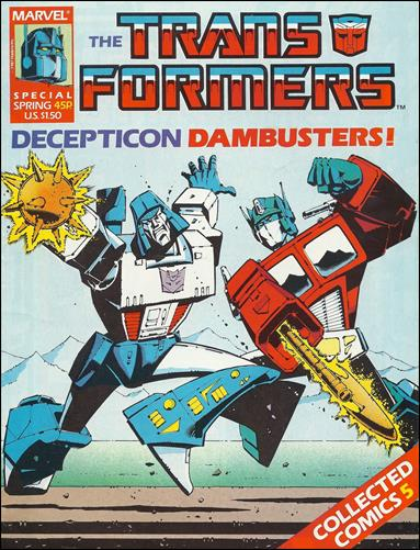 Transformers Special (UK) 5-A by Marvel UK