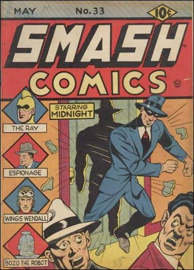 Smash Comics (1939) 33-A by Quality