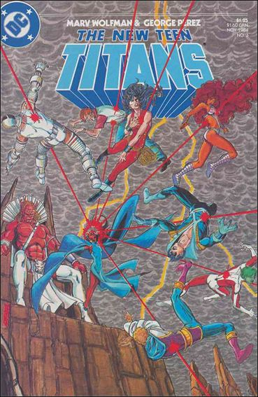 New Teen Titans (1984) 3-A by DC
