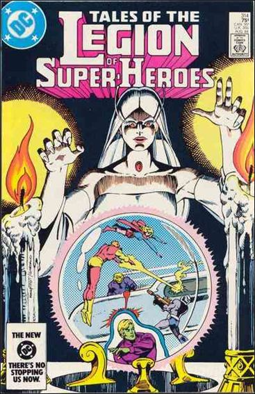 Tales of the Legion of Super-Heroes 314-A by DC