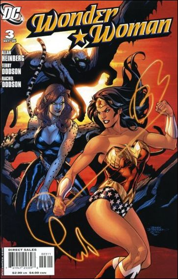 Wonder Woman (2006) 3-A by DC
