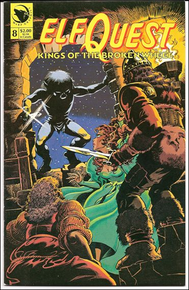 Elfquest: Kings of the Broken Wheel 8-A by Warp Graphics