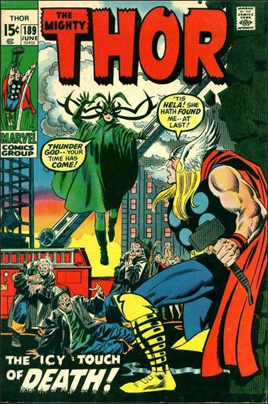 Thor (1966) 189-A by Marvel