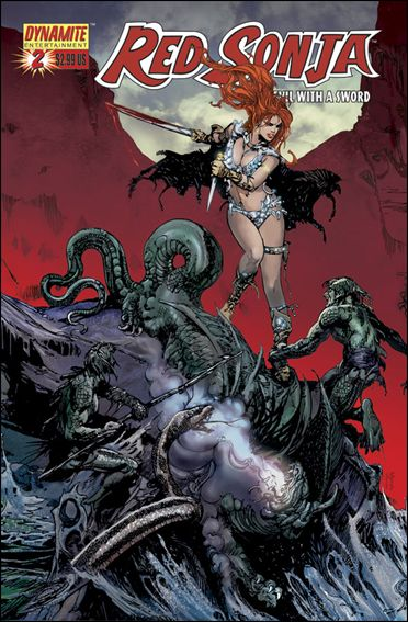 Red Sonja (2005) 2-F by Dynamite Entertainment