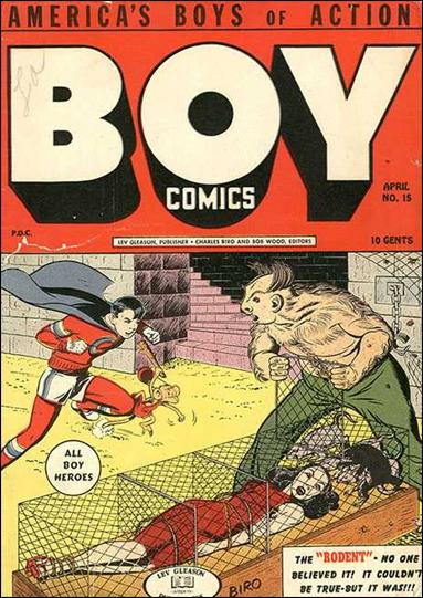 Boy Comics 15-A by Lev Gleason Productions