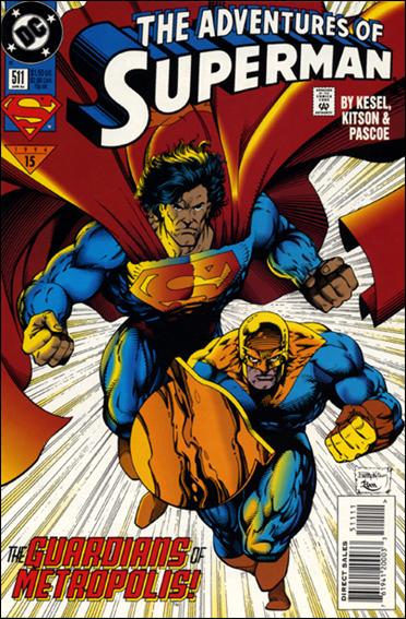 Adventures of Superman (1987) 511-A by DC