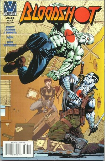 Bloodshot (1993) 48-A by Valiant
