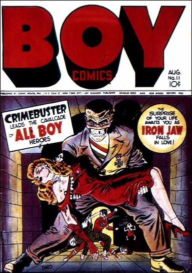 Boy Comics 11-A by Lev Gleason Productions