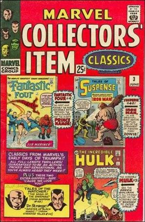 Marvel Collectors' Item Classics 3-A