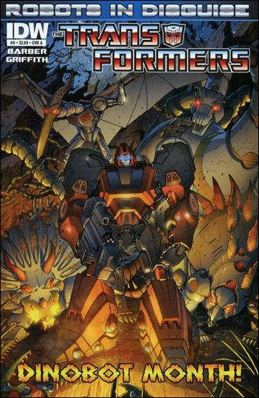 Transformers: Robots in Disguise 8-A by IDW