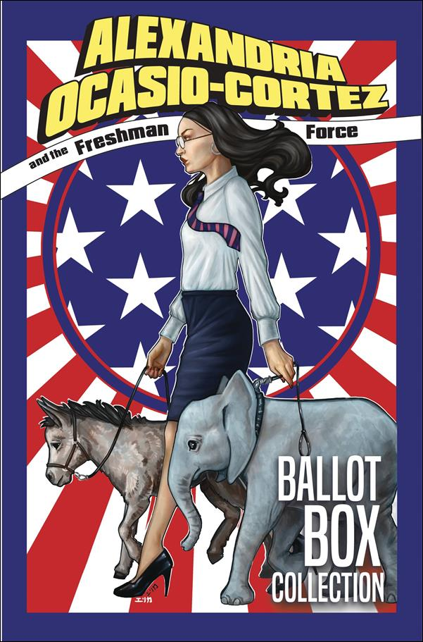 Alexandria Ocasio-Cortez and the Freshman Force: Ballot Box Collection nn-A by Devil's Due