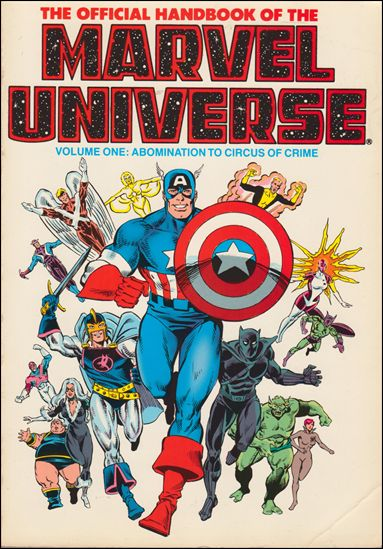 Official Handbook of the Marvel Universe 1-C by Marvel