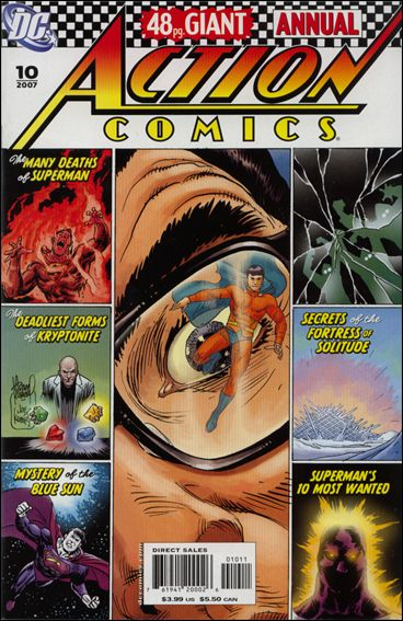 Action Comics Annual (1987) 10-A by DC