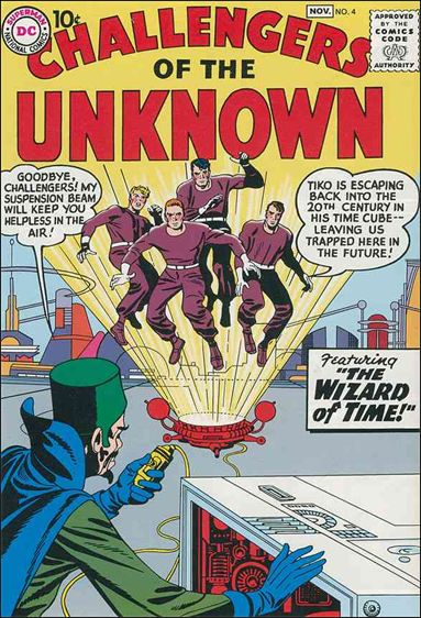 Challengers of the Unknown (1958) 4-A by DC