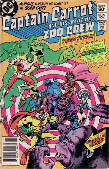 Captain Carrot and His Amazing Zoo Crew 20-A by DC