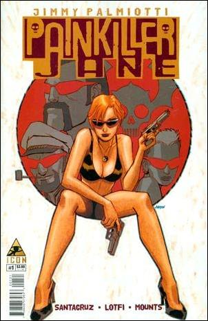 Painkiller Jane: The Price of Freedom 1-B by Icon