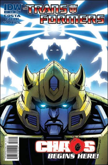 Transformers (2009) 21-A by IDW