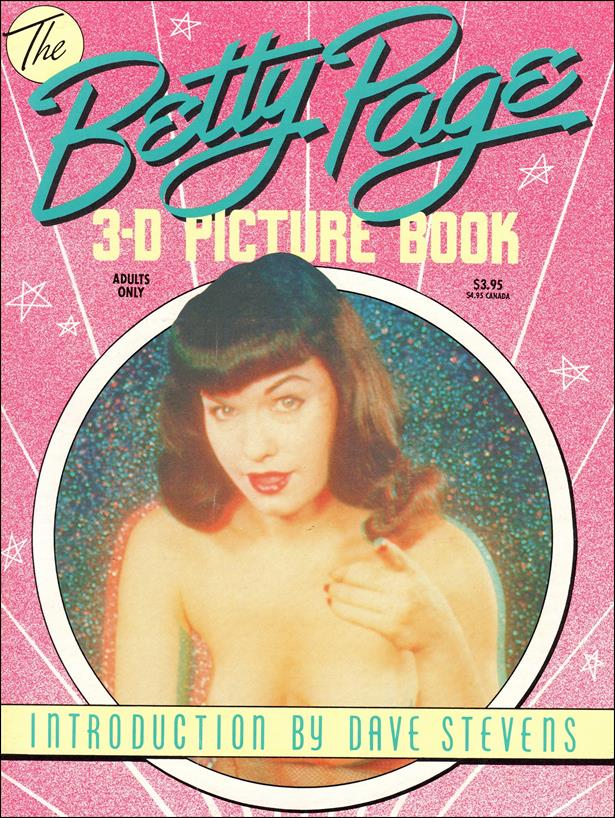 Betty Page 3-D Picture Book 1-A by 3-D Zone