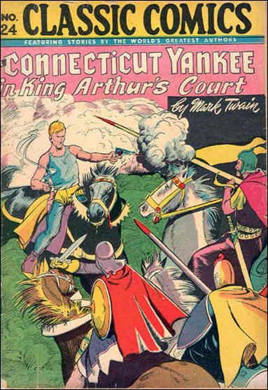 Classic Comics/Classics Illustrated 24-C by Gilberton