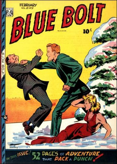 Blue Bolt (1947) 9-A by Premium
