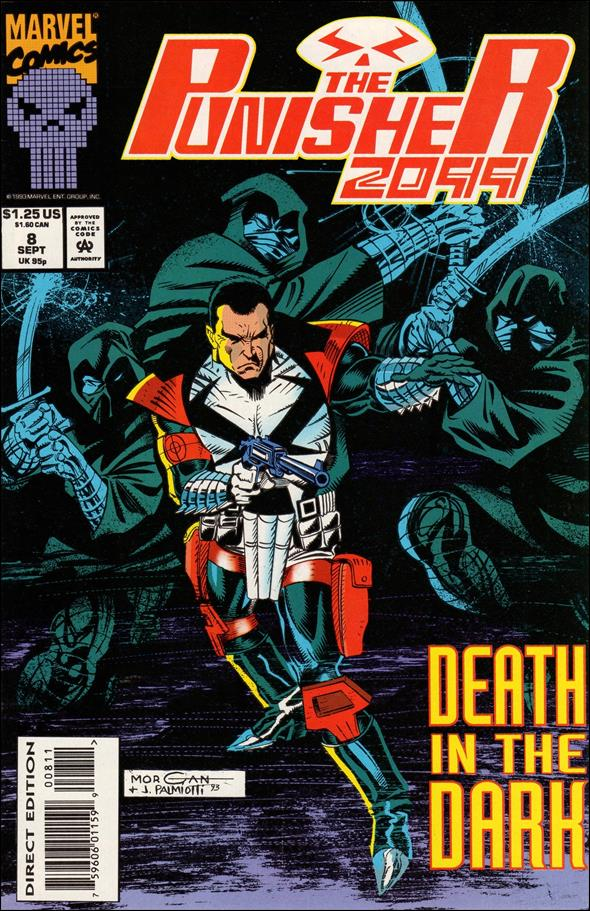 Punisher 2099 (1993) 8-A by Marvel