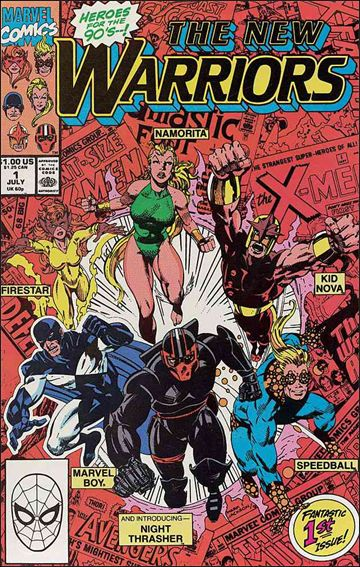 New Warriors (1990) 1-A by Marvel