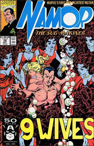Namor: The Sub-Mariner 19-A by Marvel