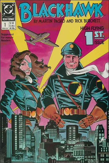 Blackhawk (1989)  1-A by DC