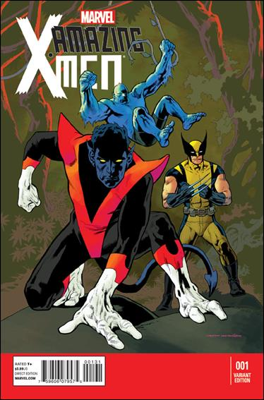Amazing X-Men (2014) 1-C by Marvel
