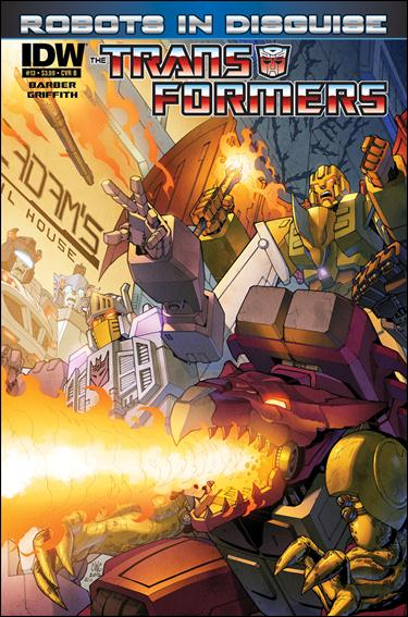 Transformers: Robots in Disguise 13-B by IDW