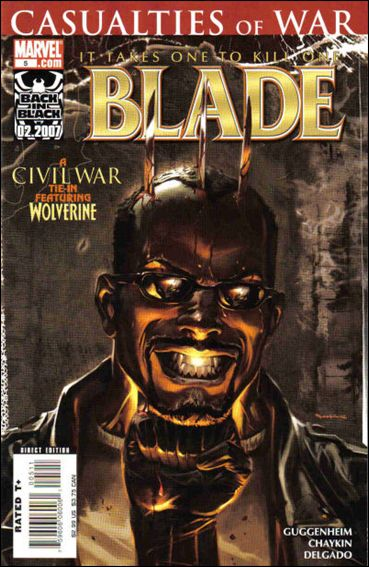 Blade (2006) 5-A by Marvel