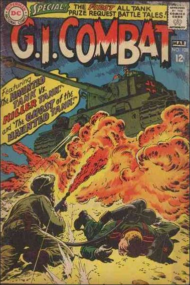 G.I. Combat (1952) 128-A by DC