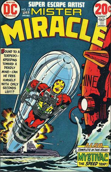 Mister Miracle (1971) 12-A by DC