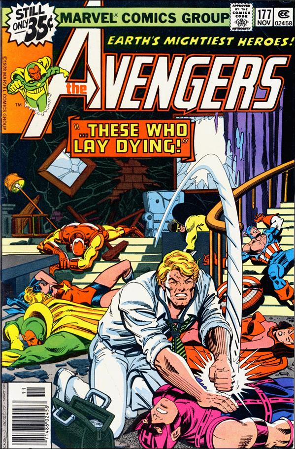 Avengers (1963) 177-A by Marvel
