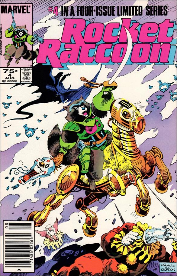 Rocket Raccoon (1985) 4-A by Marvel