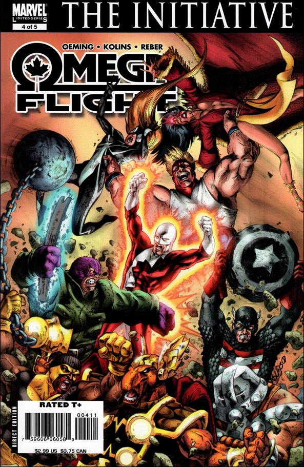 Omega Flight 4-A by Marvel