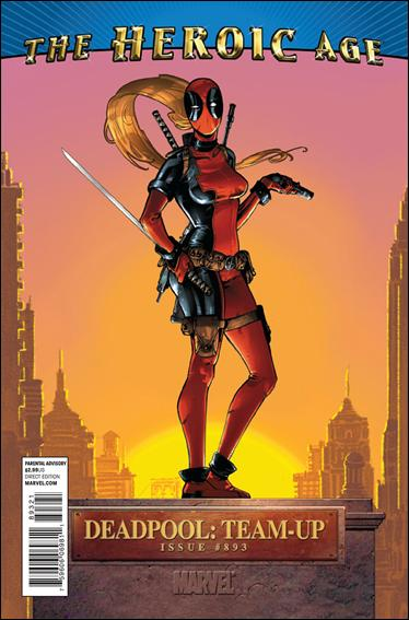 Deadpool Team-Up (2010) 893-B by Marvel