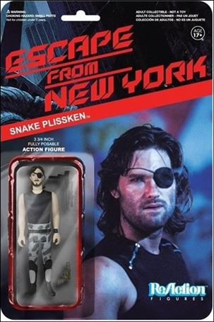 ReAction: Escape from New York Snake Plisskin